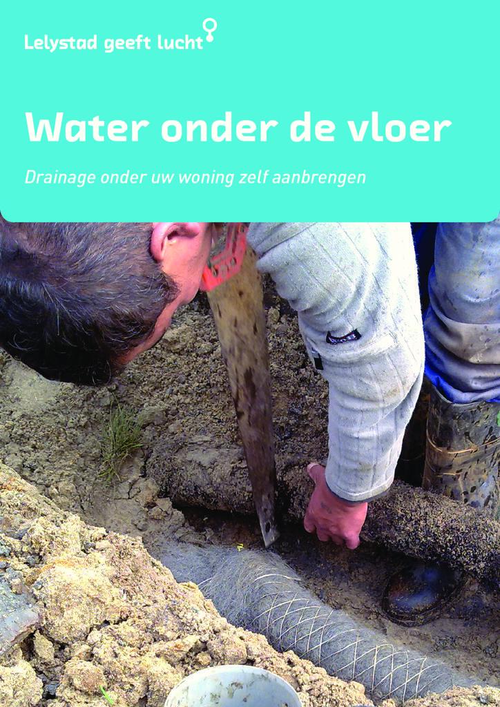 thumbnail of Folder – Water onder de vloer – drainage