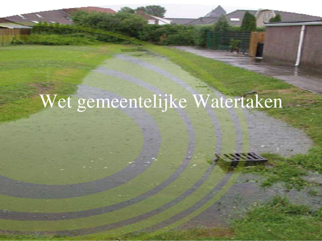 thumbnail of Wet gemeentelijke Watertaken